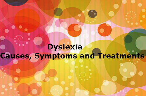 Dyslexia - Causes,Treatments and Cures