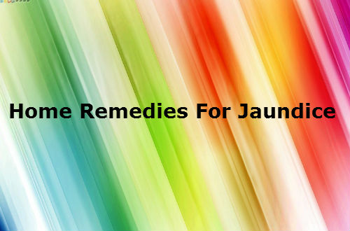 Home Made Remedies For Jaundice