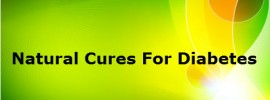 Natural cure For Diabetes – Foods as Home remedy