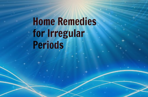 home remedies for menses