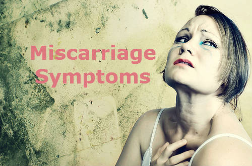 miscarriage symptoms