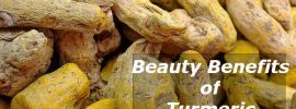 Fresh Beauty Benefits of Turmeric for Healthy skin