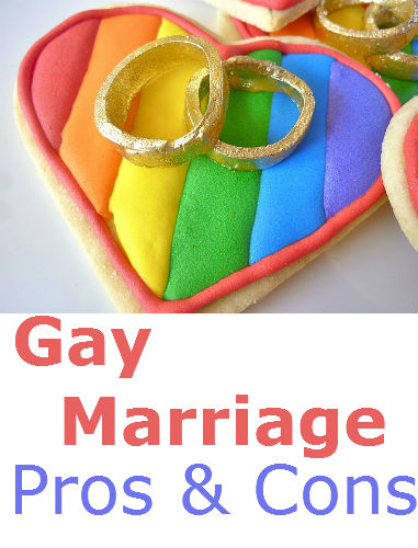 Gay marriage pro and con